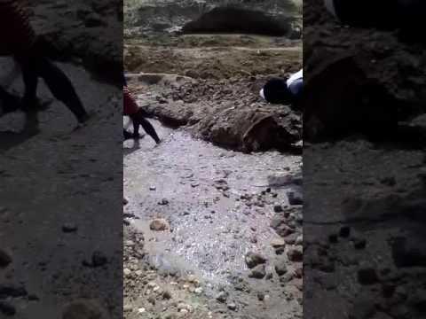 Tin mining in Barikin-ladi, Jos Nigeria
