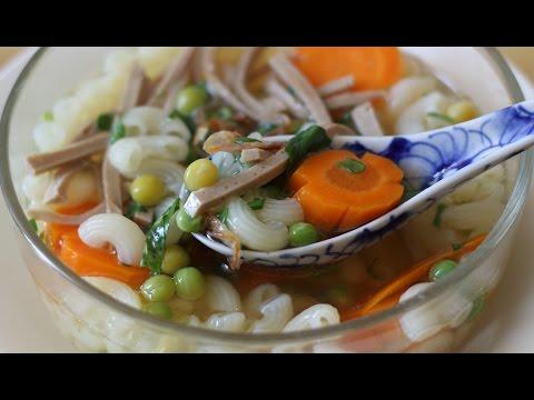 Macaroni Soup - SÚP NUI