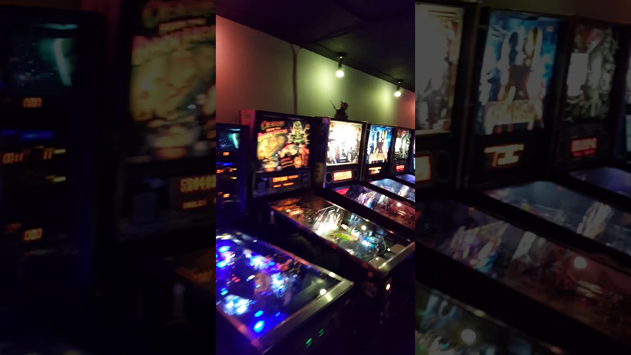 Pin Up Arcade Bar walkthrough in Waterloo Ontario