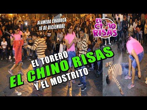 El Chino Risas y El  Mostrito 'EL TORERO' - Alameda Chabuca 16 De Diciembre 2018
