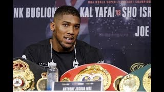 "ANTHONY JOSHUA ""IF JOSEPH PARKER HAS A GRANITE CHIN, THEN I'LL BREAK HIS BODY""!!"