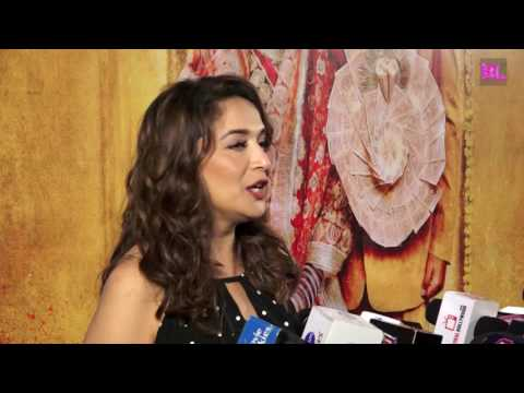 Madhuri Dixit | Red Carpet | Premiere of Film Toilet Ek Prem Katha