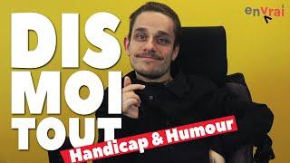 [ DIS MOI TOUT ] Ex-recordman de tours en fauteuil : Geoffrey Bugnot (humoriste)