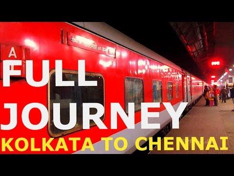KOLKATA  TO CHENNAI FULL JOURNEY - PART I (22807 SANTRAGACHI CHENNAI LHB AC EXPRESS) thumbnail