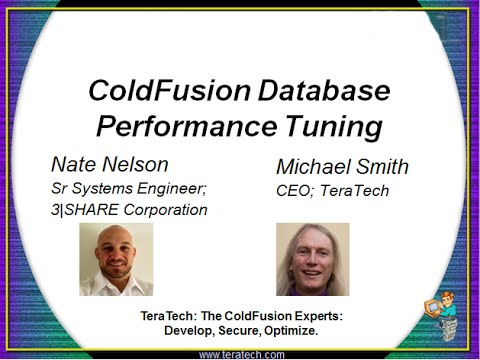 ColdFusion Database Performance Tuning