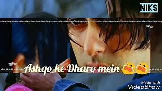 Humne tujhko dekha chand sitaro may song