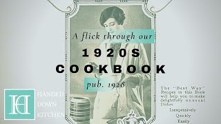 Our 1920s Cookbook | The BestWay Cookery Gift Book (1928)