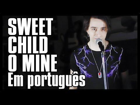 """GUNS N' ROSES em PORTUGUÊS: """"Sweet Child O' Mine"""" (Tradução Adaptada)"""