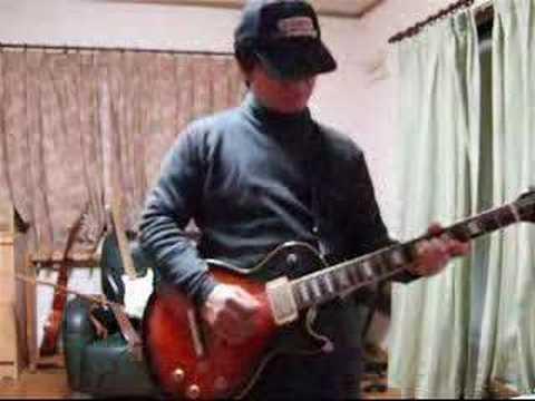 me playing suede metal mickey guitar full ver.