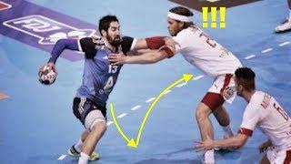 【ハンドボール】もうついて行けない!!切れ味抜群のフェイント!蝶のように躱し、蜂のごときシュート!!【神業】best of handball feint!!1【amazing】
