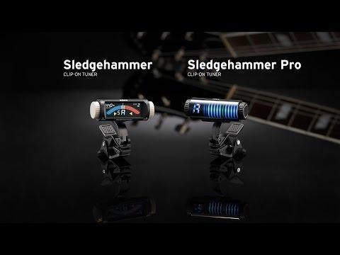 Korg Sledgehammer and Sledgehammer Pro Clip-on Tuners