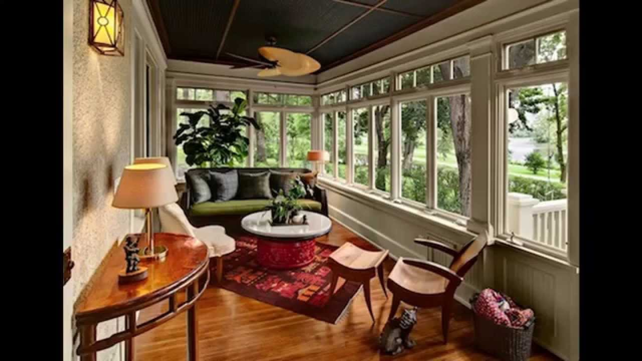 Enclosed patio ideas - YouTube on Backyard Porch Ideas  id=81716