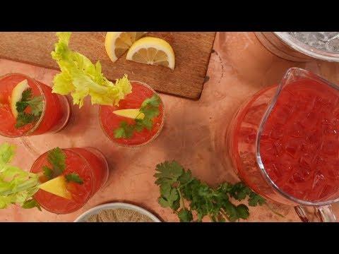 Spicy Mezcal Bloody Maria - Martha Stewart
