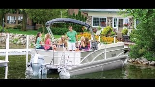 Godfrey Pontoon Boats | Sweetwater Premium 240 Wb Wet Bar | Rough Water Pontoon
