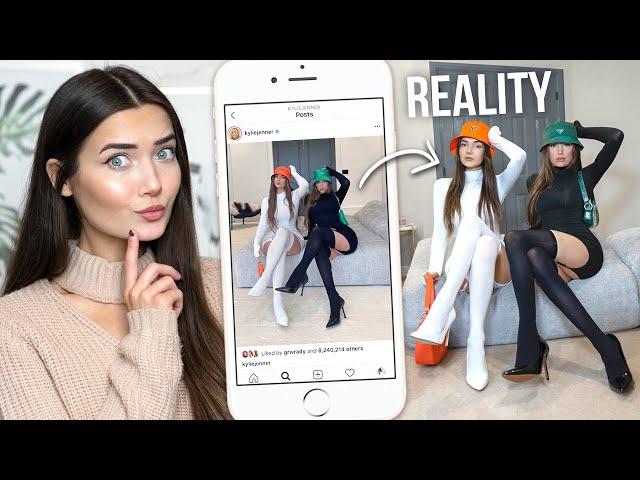 Recreating Kylie Jenner & Stassie\'s Instagram Photos...