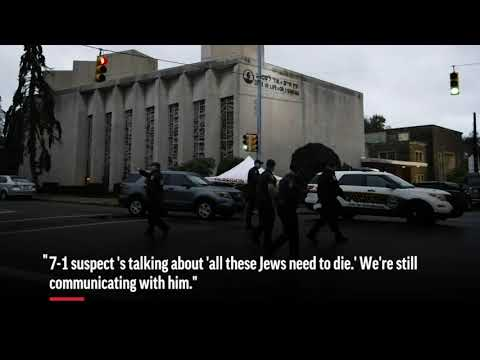Hear 911 audio as gunman attacks synagogue