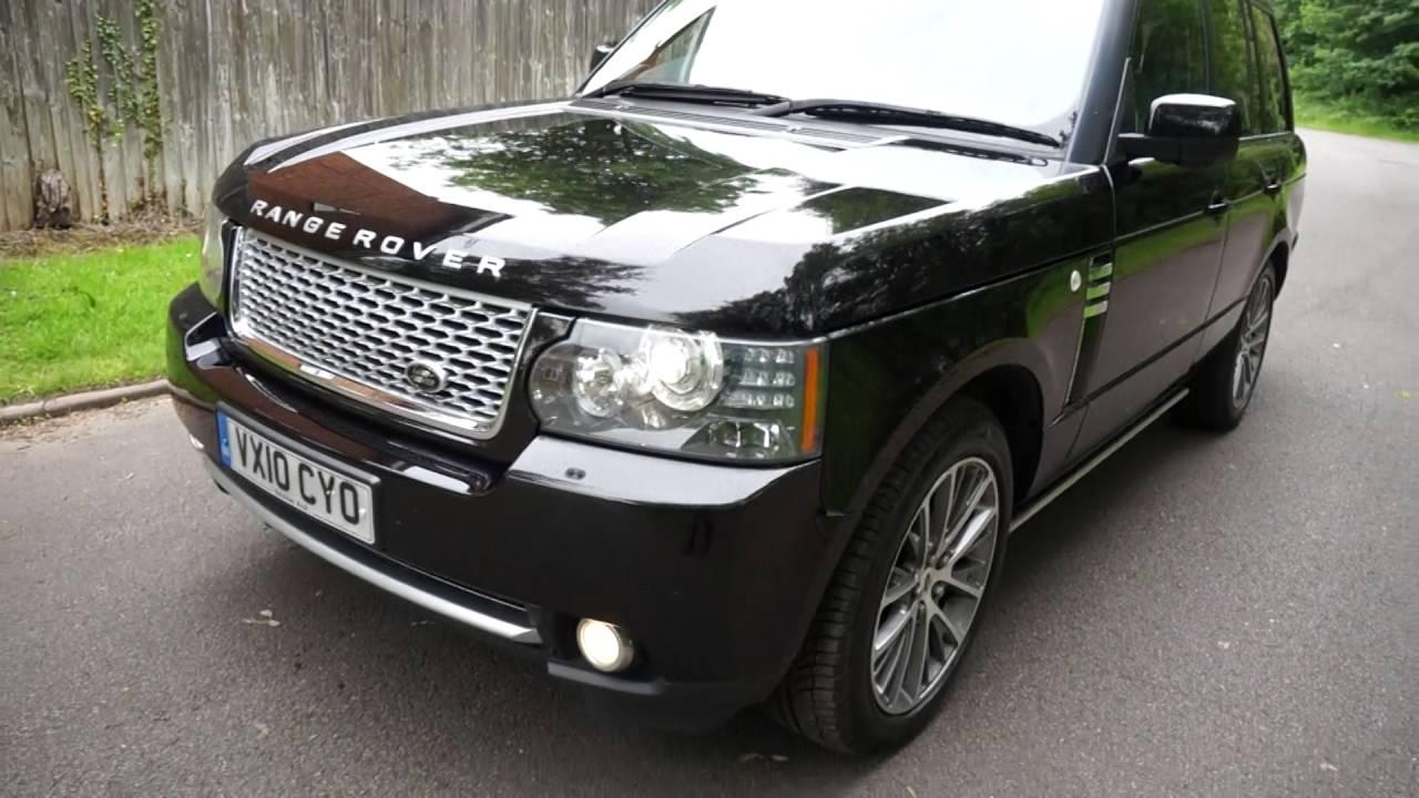 Range Rover Autobiography 2010 >> 2010 10 Range Rover Autobiography 5 0 V8 40th Anniversary Black