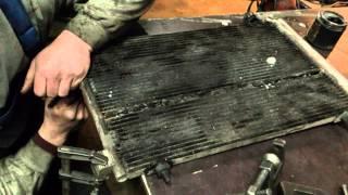 Проверка герметичности радиатора кондиционера!