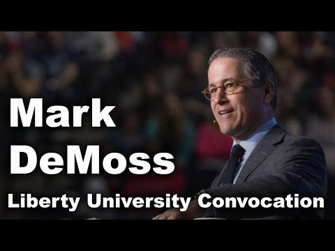 Mark DeMoss - Liberty University Convocation