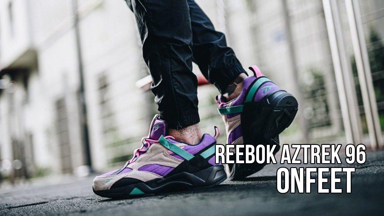directorio completar Respetuoso  Onfeet Reebok Aztrek 96 Adventure (EG9224) Review | sneakers.by - YouTube