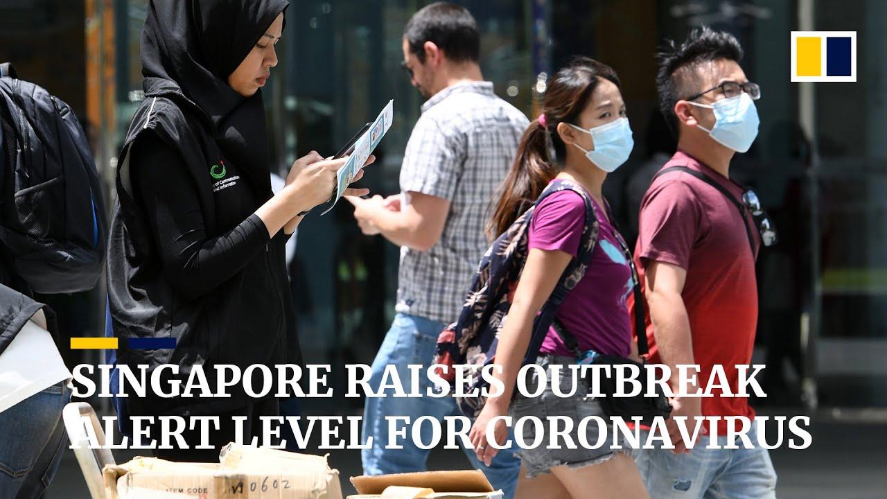 Singapore raises outbreak alert level after signs of community ...