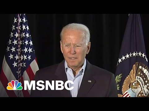 Biden Speaks Near Site Of Surfside Condo Collapse