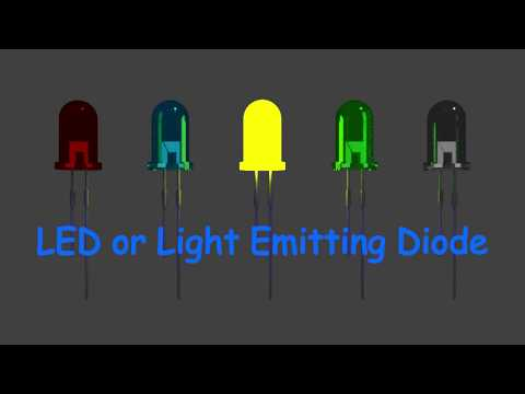 How does a Light Emitting Diode or LED work?