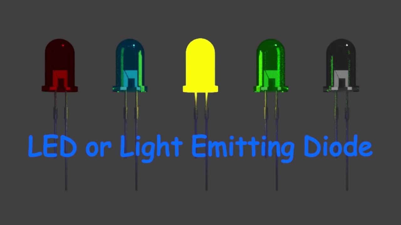 how does a light emitting diode or led work youtube. Black Bedroom Furniture Sets. Home Design Ideas