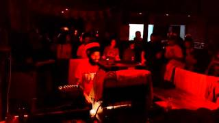 King Alpha @ Venice Dub Club 2-10-15 play Fikir Amlak and more on Moa Anbessa Sound System