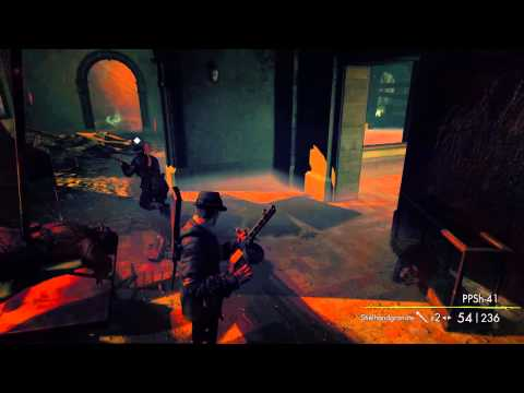DAFUQ IS WRONG WITH MY GUY?!?!? [Sniper Elite: Nazi Zombie Army 2] |