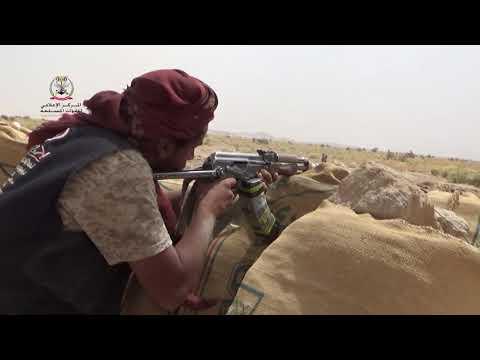 جانب من المعارك التي  تخوضها قوات الجيش الوطني ضد عناصر  مليشيات الإنقلاب في محافظة الجوف 23-6-2021