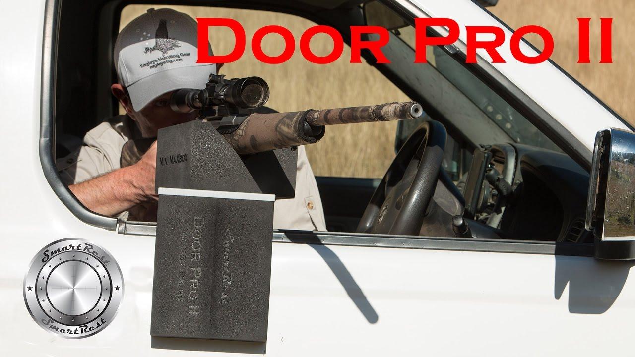 SmartRest Door Pro II: Shoot Better From A Vehicle