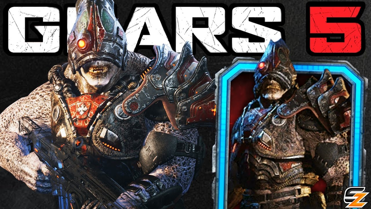 GEARS 5 Characters Gameplay - LOCUST CYCLOPS Character Skin Multiplayer Gameplay! thumbnail