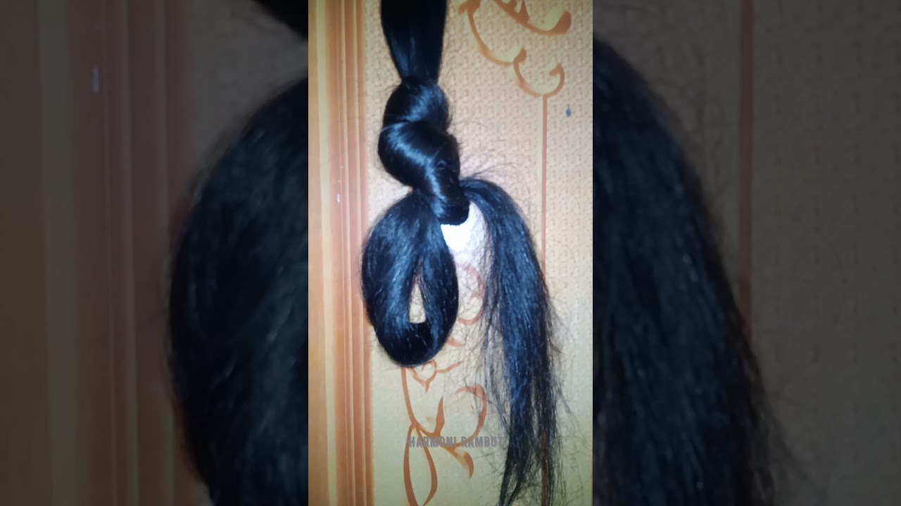 Harmoni Rambut  | Long Hair Falling Out | Long Hair For Sale | 140 cm  | Short Video By Google |