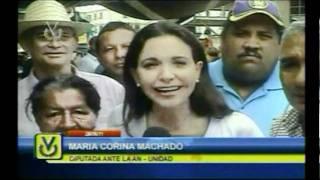 María Corina Machado - Visita - El Cartanal en Los Valles del Tuy (25/06/11)