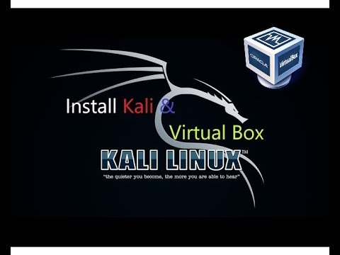 How to Install Kali in Virtual Box