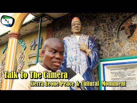 Talk To The Camera - Sierra Leone Peace & Cultural  Monument