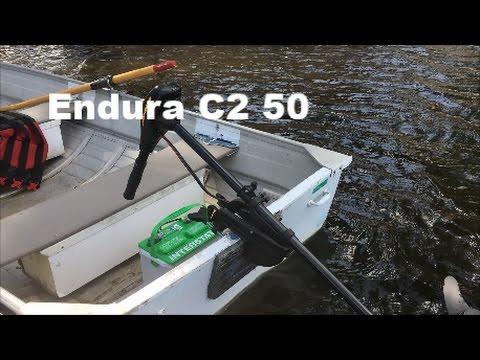 Minn Kota Endura C2 50lb Trolling Motor Review