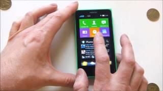 Nokia X - демонстрация работы