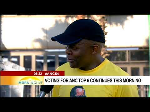 Mondli Gungubele on voting at 54th ANC National Conference