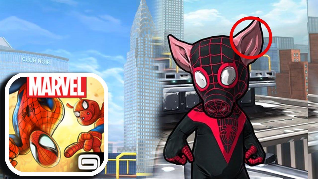 spider man unlimited ultimate spider ham youtube. Black Bedroom Furniture Sets. Home Design Ideas