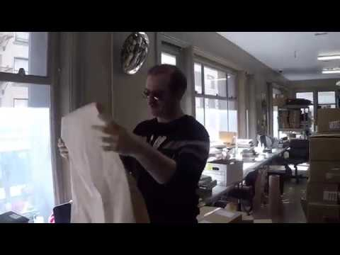 OFFICE HACKS: HOW TO MAKE A CURTAIN