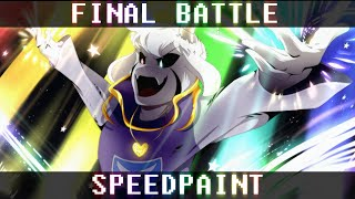 Undertale 5th Anniversary | Asriel Boss Fight POSTER! | (10% off merch sale this weekend)