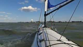 Clip 3 - Day 1 of the 2014 tour of the Erie Islands Paddle Sail Thumbnail