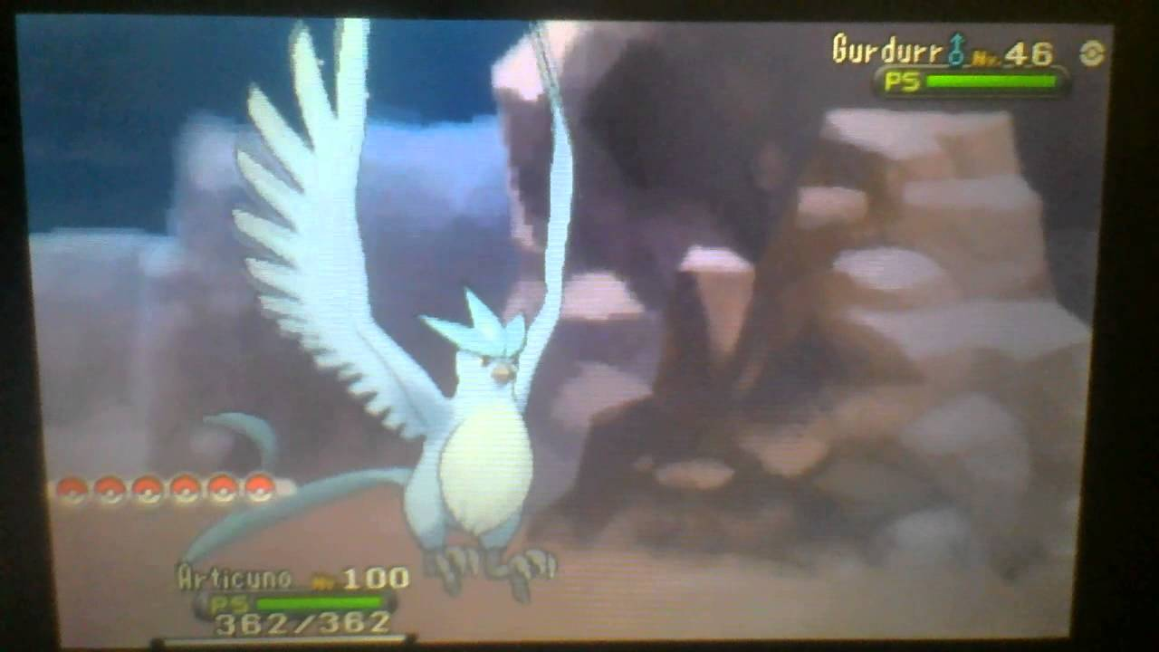 how to get shiny articuno in pokemon y