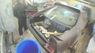 Part 7 Mad Max Lexus LS400 Build Progress Tanks and Lights!!