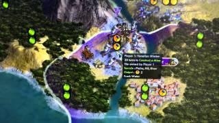 The Most Epic Civilization V Start Ever (for me)