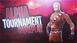 Trapped Wins Against PC Players?!? | Alpha Tournament Gameplay (Fortnite Battle Royale)