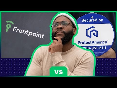 Frontpoint Vs  Protect America Security System Review