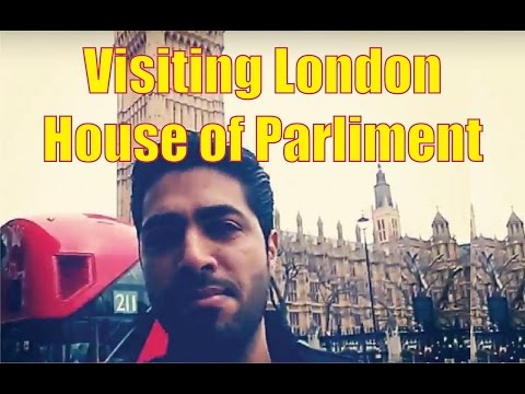 Me visiting the house of Parliament!